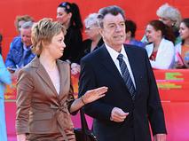 Вячеслав Шалевич с супругой