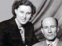 Лев Нетто с супругой