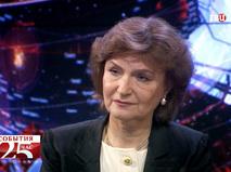 Наталия Нарочницкая, руководитель Европейского института демократии и сотрудничества
