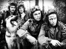 """Кадр из сериала """"Четыре танкиста и собака"""""""