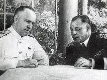Георгий Жуков и Николай Кузнецов