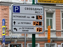 Городские парковки
