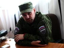 Один из лидеров ополчения ЛНР Алексей Мозговой