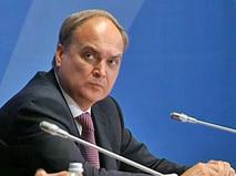 Заместитель министра обороны РФ Анатолий Антонов