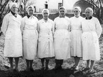 Медперсонал Валаамского дома инвалидов