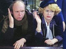 "Кадр из фильма ""Гараж"""