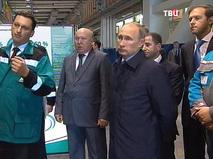 Владимир Путин прибыл в Поволжье с рабочей поездкой