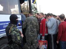 Ополченцы и украинские военные обменялись пленными