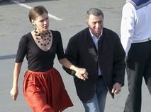 Иван Дыховичный с супругой Ольгой