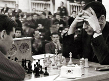 Хосе Рауль Капабланка в матче против Николая Рюмина