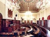Зал заседаний сейма Латвии