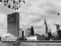 Здание ООН в Нью-Йорке, 1957 год
