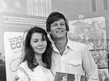 Дин Рид с супругой Ренатой Блюме