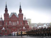Годовщина парада на Красной площади 7 ноября 1941 года