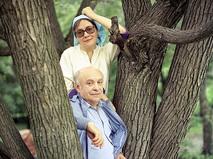 Ролан Быков с супругой Еленой Санаевой