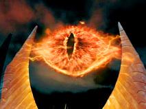 """Око Саурона из фильма """"Властелин колец"""""""