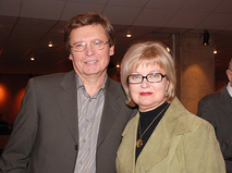 Борис Токарев с супругой Людмилой Гладунко