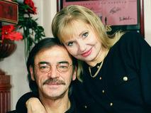 Михаил Боярский с супругой Ларисой Луппиан