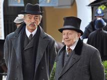 """Кадр из сериала """"Шерлок Холмс"""""""