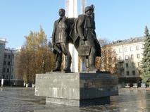 Памятник защитникам города Тулы в Великой Отечественной войне