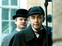 "Кадр из фильма ""Приключения Шерлока Холмса и доктора Ватсона"""