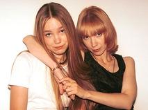 Марина Левтова с дочерью Дарьей Мороз