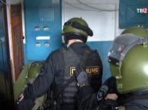 Полиция проводит спецоперацию