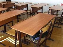 Пустой школьный класс