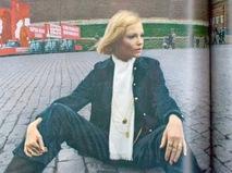 Галина Миловская в журнале Vogue
