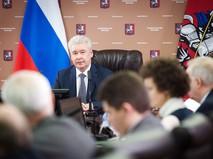 Мэр Москвы Сергей Собянин провёл заседания