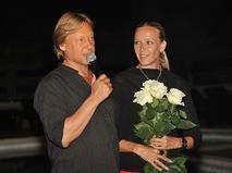 Дмитрий Харатьян с супругой Мариной Майко