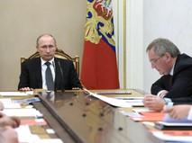 Президент России Владимир Путин проводит заседание ВПК