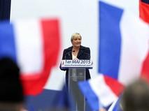 """Лидер """"Национального фронта"""" Марин Ле Пен"""