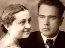 Николай Логунов с супругой