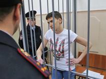 Украинская лётчица Надежда Савченко