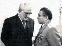 Юрий Андропов и Николай Щёлоков