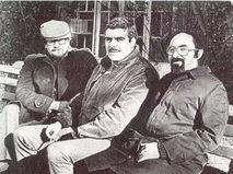 Сергей Довлатов со Львом Лосевым и Григорием Поляком