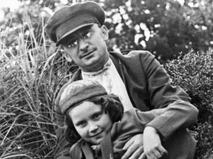 Лаврентий Берия и дочь Сталина