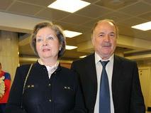 Николай Губенко с супругой Жанной Болотовой