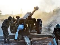 Артиллерия в Донбассе