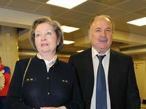 Жанна Болотова с супругом Николаем Губенко