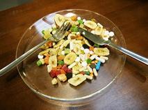 Еда с антибиотиками