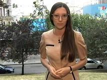 Журналистка Первого канала Александра Черепнина