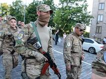 """Бойцы батальона """"Айдар"""""""