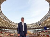 Сергей Собянин осмотрел ход реконструкции Большой спортивной арены «Лужники»