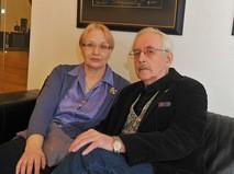 Василий Ливанов с супругой Еленой