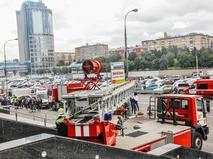 """Учения МЧС по эвакуации из """"Москве-Сити"""""""