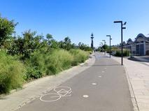 """Велодорожка в парке """"Музеон"""""""