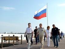 Президент России Владимир Путин в Крыму