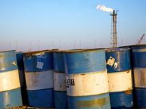 Бочки с нефтью